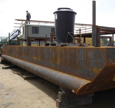 River and Swamp Mobile and Drilling Support Equipment